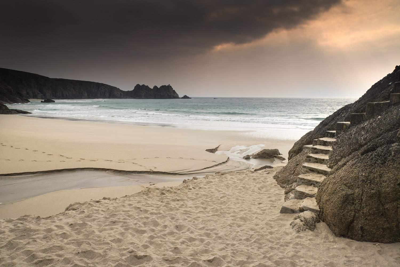 187 Porthcurno Yellow Sand Beach Resize