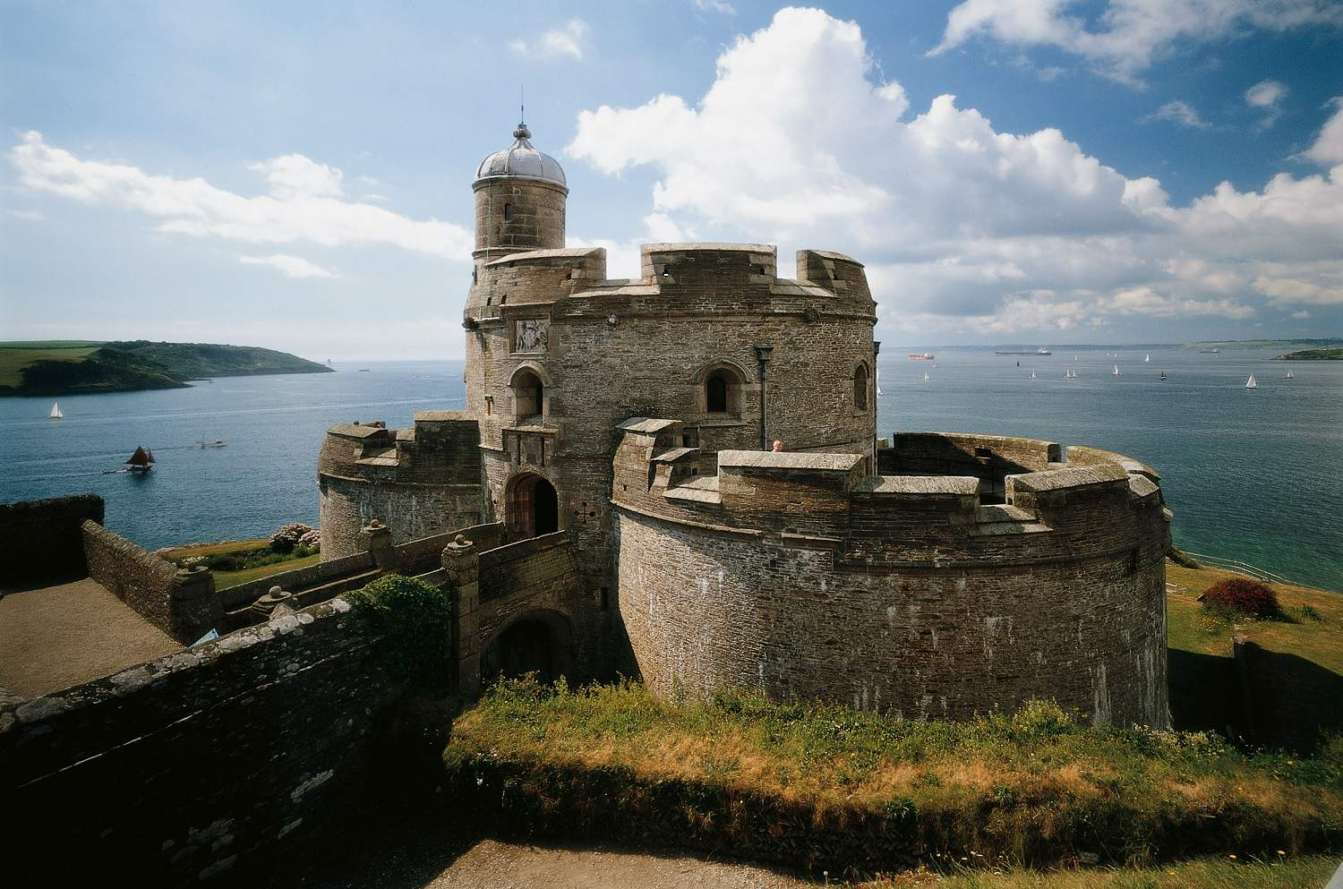 Places To See In Cornwall St Mawes Castle We Are Cornwall