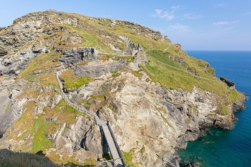 Places to see in Cornwall - Tintagel Castle