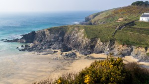 Beaches in Cornwall - Polurian Cove
