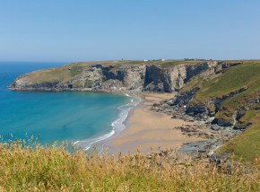 Beaches in Cornwall - Trebarwith Strand