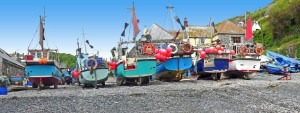 Places to see in Cornwall - Cadgwith Cove