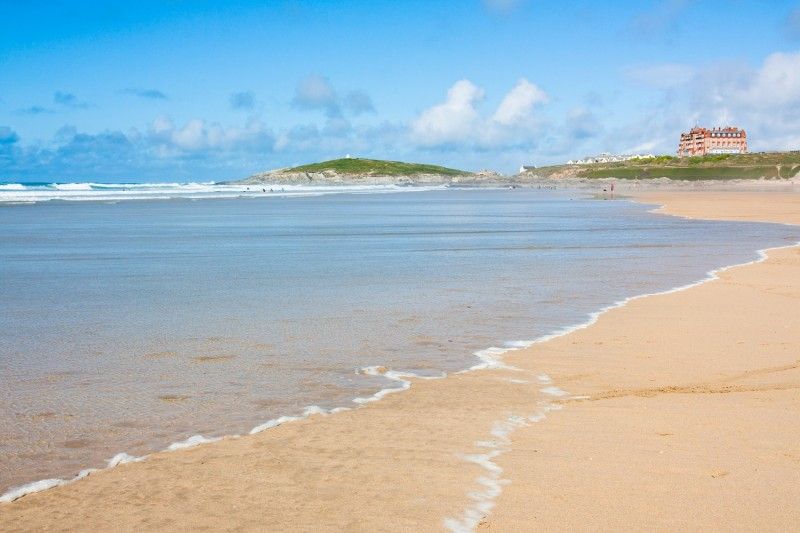 Dog friendly beaches in Cornwall - Fistral Beach