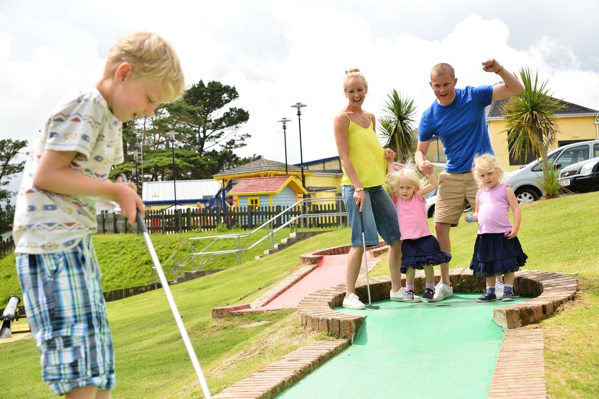 Campsites in Cornwall - Looe Bay Holiday Park  Campsites in Co...
