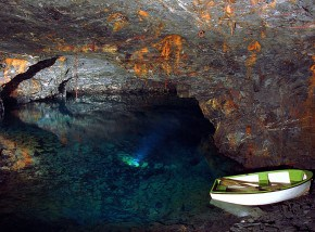 places to visit in Cornwall - Carnglaze Caverns