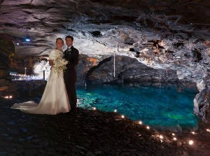 Wedding venues in Cornwall - Carnglaze Caverns