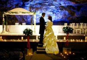 Wedding venues in Cornwall - Carnglaze Caverns