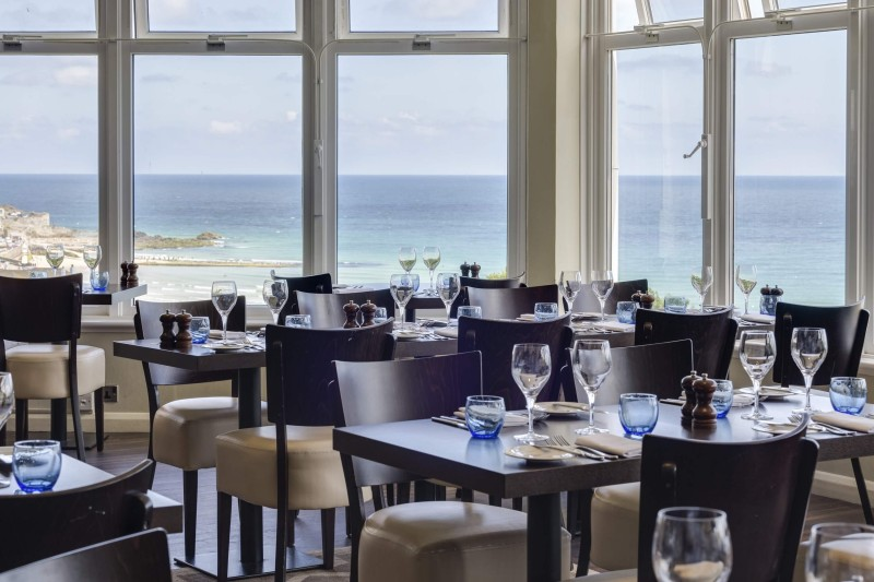 Restaurants in Cornwall - St Ives Harbour Hotel