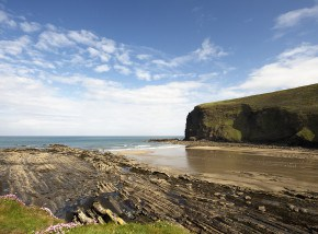 Beaches in Cornwall - Crackington Haven Beach