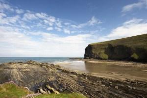 Beaches in Cornwall - Crackington Haven Beach