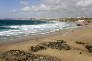 Beaches in Cornwall - Great Western Beach in Newquay
