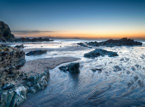 Lusty Glaze Beach in Newquay - one of the best beaches in Cornwall for activities and events.