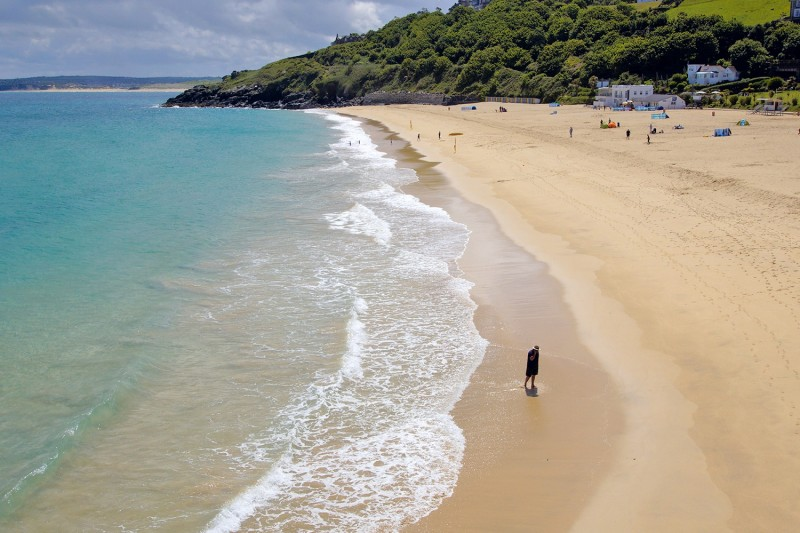 Blue flag beaches in Cornwall - Porthminster Beach