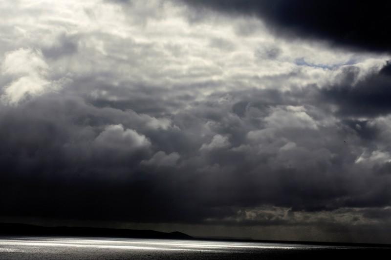 Storm at Looe