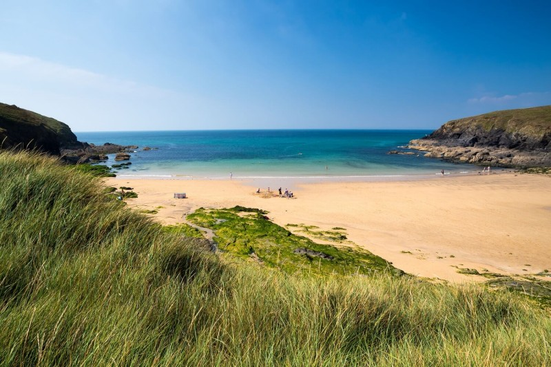 Beaches in Cornwall - Poldhu Cove