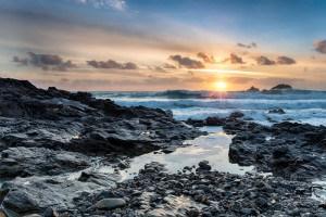 Beaches in Cornwall - Priest's Cove