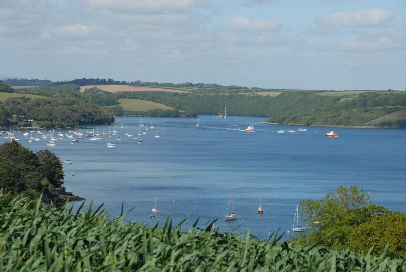 Restronguet Barton - View of Fal Estuary Carrick Roads - We are Cornwall - Places to Stay