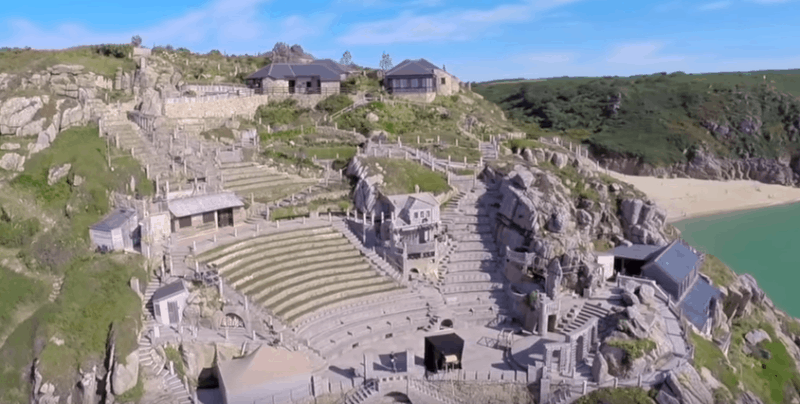Things to do in Cornwall - Minack Theatre