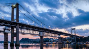 Travelling to Cornwall - Tamar Bridge