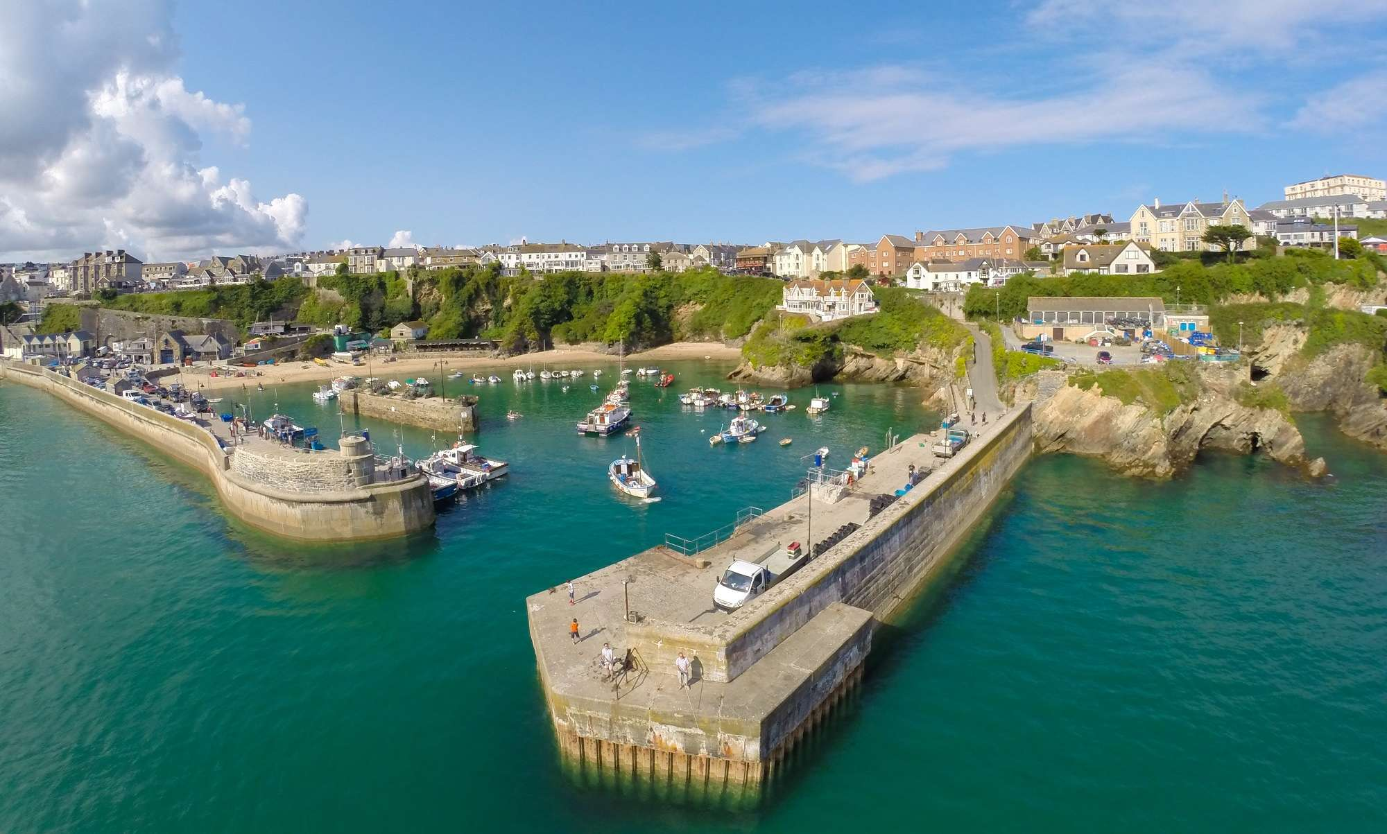 Places to visit in Cornwall - Newquay Harbour