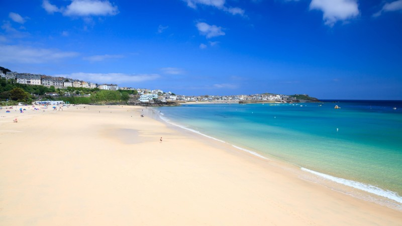 Beaches in Cornwall - Porthminster Beach