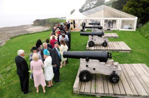 Wedding venues in Cornwall - St Mawes Castle