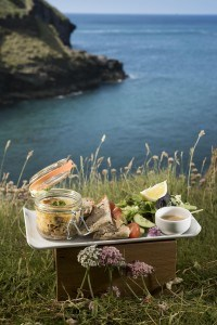 Places to eat in Cornwall - Tintagel Castle Beach Cafe
