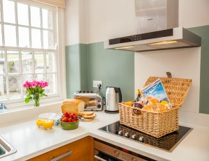 Self catering accommodation in Cornwall - Custodians House English Heritage