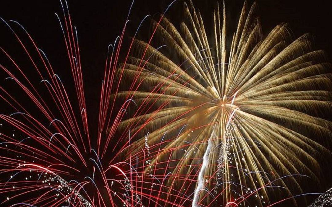New Year Fireworks Displays in Cornwall