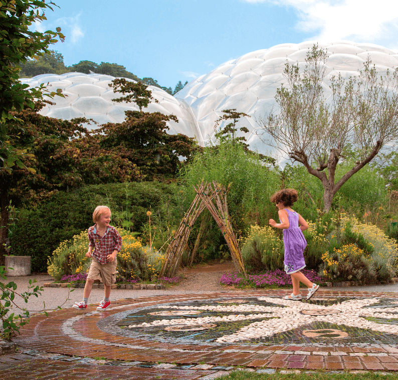 Eden Project - children playing