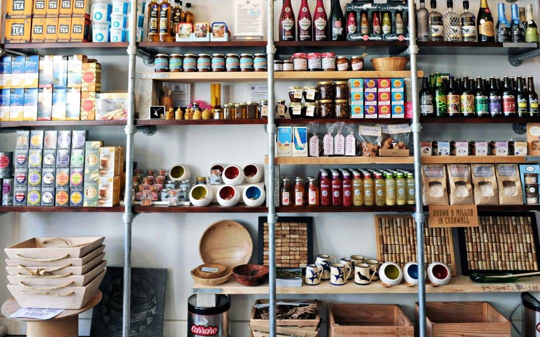 Shopping in Cornwall - find the best local produce, Cornish gifts and more