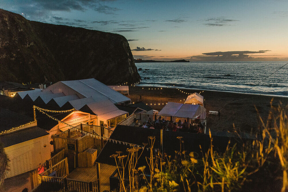 Places to get married in Cornwall - Lusty Glaze