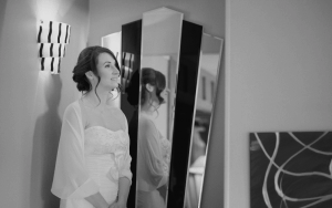 Bride at Talland Bay Hotel