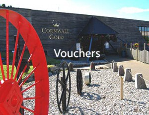 Vouchers for Cornwall Gold