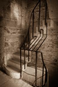 Stairs at Bodmin Jail