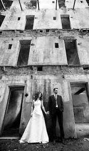 Bride and Groom and Bodmin Jail
