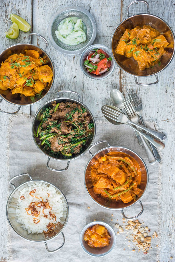 Curries at Rick Stein Fistral