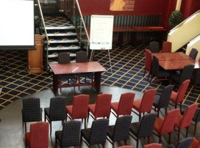 Conference set up - Bodmin Jail