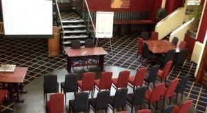 Conference set up - Bodmin Jail