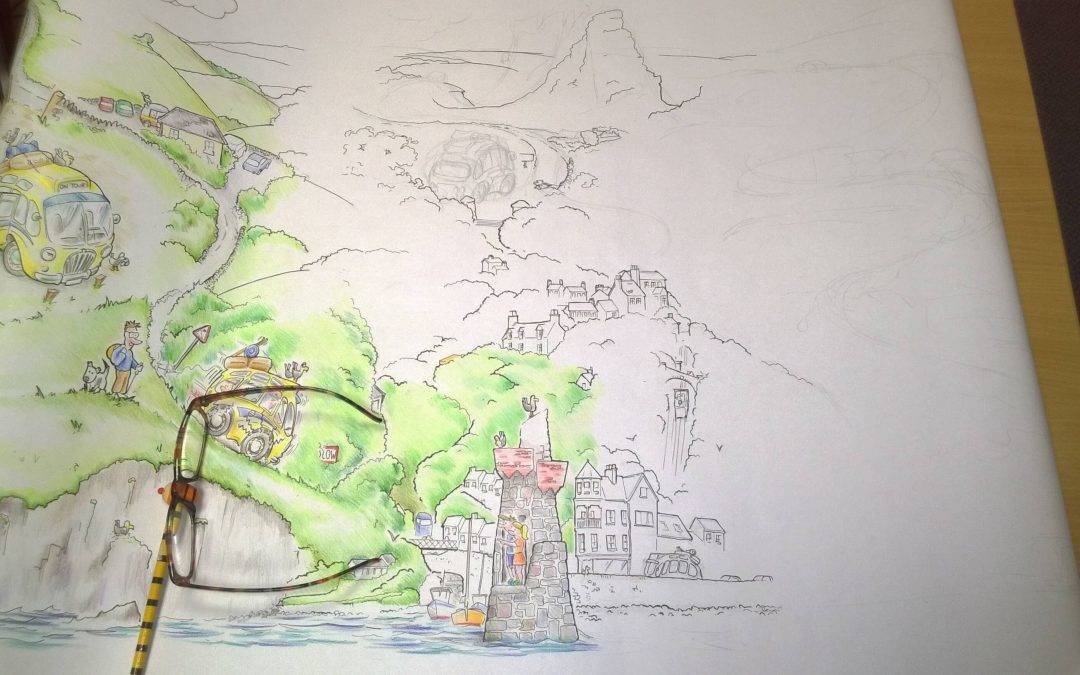 The Big Draw by Mark Harvey