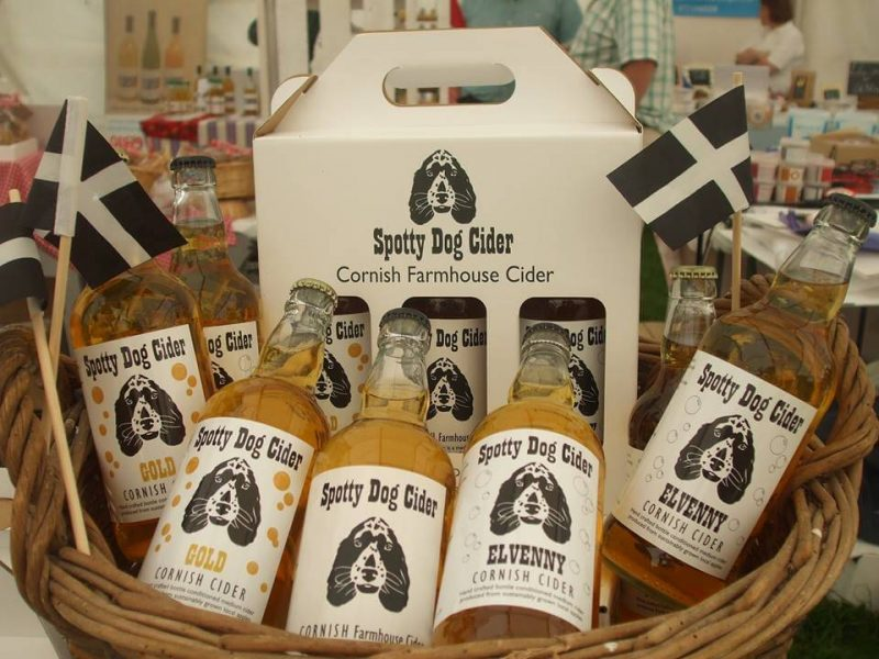 Cornish Gifts - Spotty Dog Cider