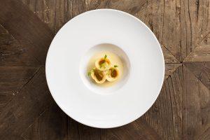 Crab Tortellini by The Alverton Hotel